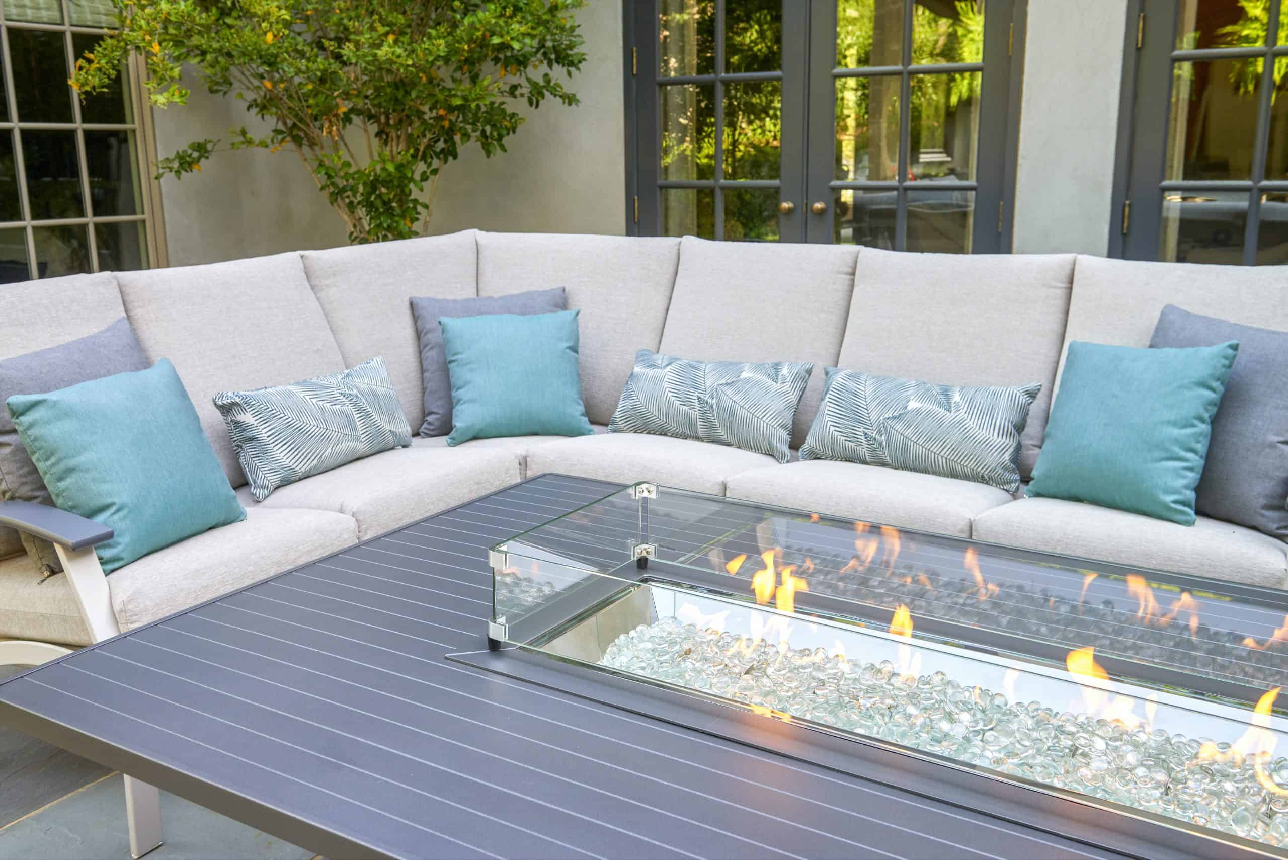 Fire Table Deep Seating